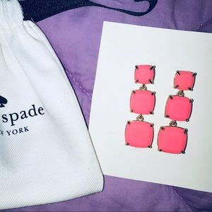 Jewelry - Kate Spade Shaken & Stirred Grad Linear Earrings